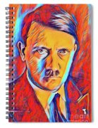 Adolf Hitler, Leaders Of Wwii Series.  Spiral Notebook