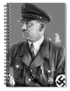 Adolf Hitler Portrait Heinrich Hoffmann Photo Circa 1935-2016 Spiral Notebook
