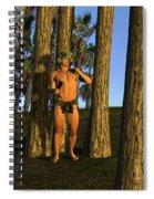 Adonis At Sunset Spiral Notebook