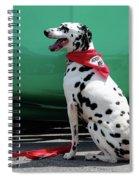 Happy Dalmatian  Spiral Notebook
