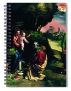 Adoration Of The Magi 1520 Spiral Notebook