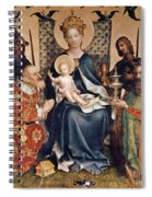 Adoration Of The Magi Altarpiece Spiral Notebook