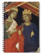 Adoration Of The Magi Fragment 1311 Spiral Notebook