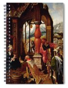 Adoration Of The Magi Spiral Notebook