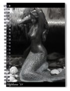 Adorning A Mermaid 2 Spiral Notebook