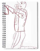 Adrian Peterson Cardinals Spiral Notebook