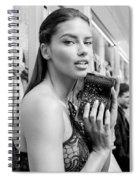 Adriana Lima Spiral Notebook