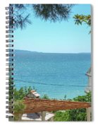 Adriatic Coast Sea View Spiral Notebook