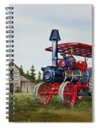 Advance Rumely Steam Traction Engine Spiral Notebook