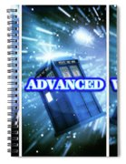 Advanced Whovians Alt Spiral Notebook