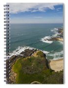 Advancing Swell Spiral Notebook