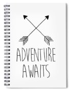 Adventure Awaits Spiral Notebook