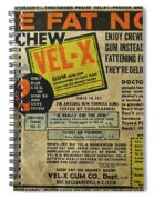 Advertisement Spiral Notebook