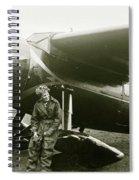 Amelia Earhardt, Ireland, Solo Atlantic Crossing, May 21st, 1932 Spiral Notebook