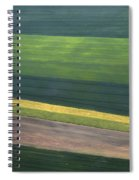 Aerial Abstract Spiral Notebook