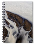 Aerial Photo Thjosa Iceland Spiral Notebook