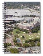Aerial View Of Atlanta Georgia Spiral Notebook