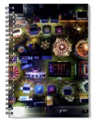 Aerial View Of Norco Fair - Pottstown Pa Spiral Notebook