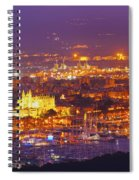 Aerial View Of Palma Of Majorca Spiral Notebook