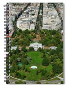 Aerial View Of The White House Spiral Notebook