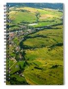 Aerial View Spiral Notebook