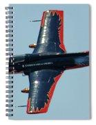 Aero L 29 Dolphin Spiral Notebook