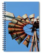 Aeromotor In Color Spiral Notebook