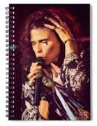Aerosmith-94-steven-1192 Spiral Notebook