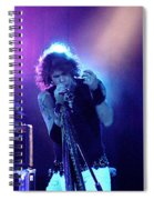 Aerosmith-steven Tyler-00114 Spiral Notebook