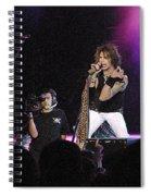 Aerosmith-steven Tyler-00175 Spiral Notebook