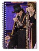 Aerosmith - Steven Tyler -dsc00015 Spiral Notebook