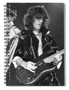 Aerosmith Tyler And Perry Spiral Notebook