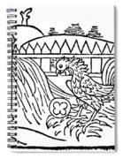 Aesop: Cock & Gem Spiral Notebook