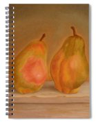 Affinity Pears Spiral Notebook