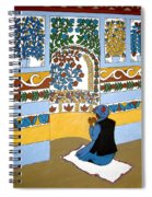 Afghan Mosque Spiral Notebook