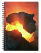 Africa Conceptual Design Spiral Notebook