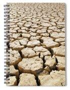 Africa Cracked Mud Spiral Notebook