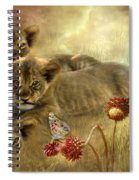 Africa - Innocence Spiral Notebook