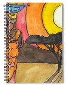 Africa Women Spiral Notebook