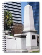 African American History Monument Spiral Notebook