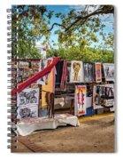 African Art For Sale Spiral Notebook