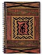 African Bird Collage Spiral Notebook