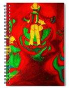 African Dancers Spiral Notebook