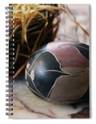African Easter Egg Spiral Notebook