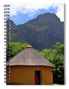 African Hut South Africa Spiral Notebook