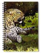 African Leopard Spiral Notebook