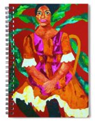 African Princess Spiral Notebook
