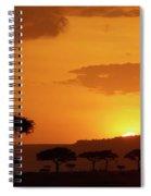 African Sunrise Spiral Notebook