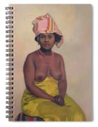 African Woman Spiral Notebook