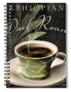 Afrikan Coffees Iv Spiral Notebook